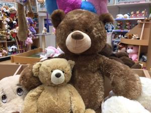 XXL Teddys in weiß und braun