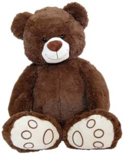 riesen teddyb r 1 meter xxl teddy in 100 cm online kaufen. Black Bedroom Furniture Sets. Home Design Ideas