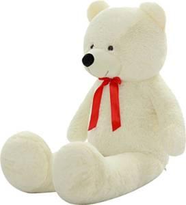 Weißer riesen Teddy
