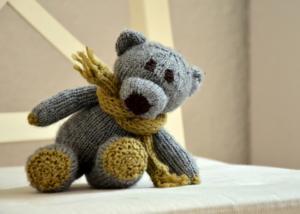 Riesen-Teddy grau